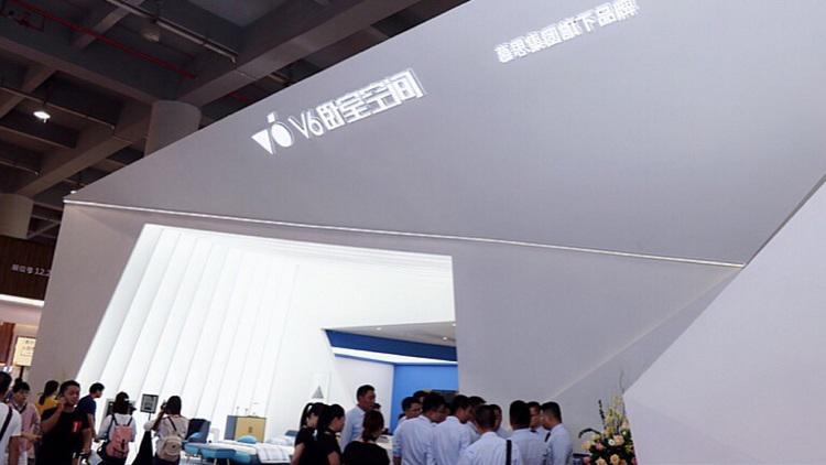 2018年建博会丨V6卧室空间时尚科技美学绽放