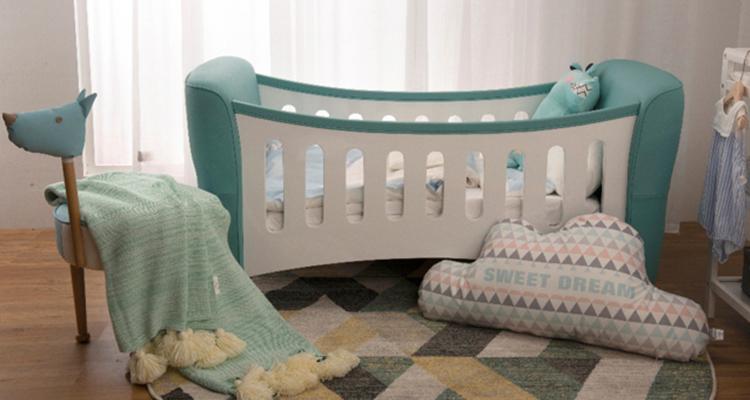 慕思儿童推出新品婴儿摇篮 环保皮料给宝宝健康睡眠