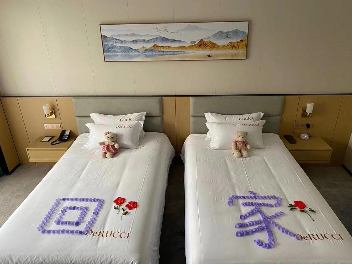 慕思为北仑训练基地提供全部寝具