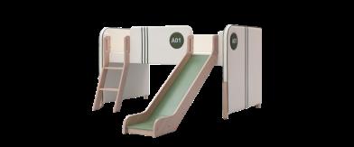 小象蒙迪滑梯床 BKF1-006