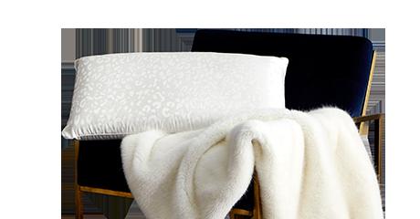 蚕丝乳胶枕(白)  PAA5-007